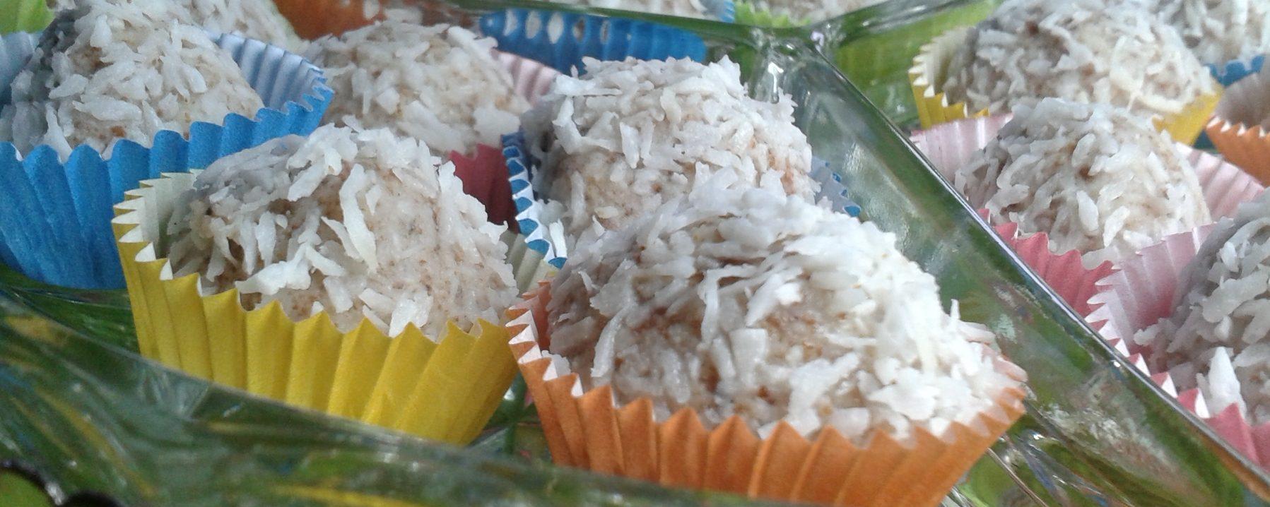 Viogane Kokos-Balls ohne industriell bearbeiteten Zucker