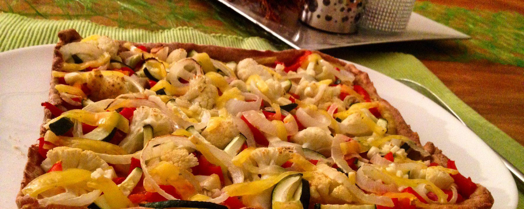 Viogane Pizza ohne Zucker und Gluten
